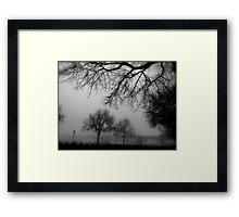 World Outside Framed Print