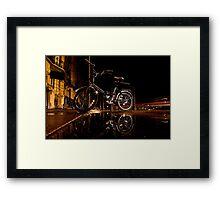 Street Bike Framed Print