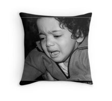 Unhappy With The Camera Throw Pillow