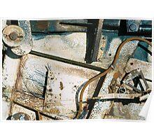 Derelict Haybaler Abstract 02 Poster