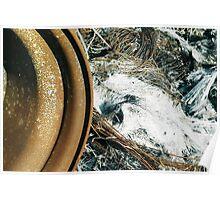 Derelict Haybaler Abstract #01 Poster