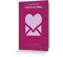 No107 My Youve Got Mail minimal movie poster Greeting Card