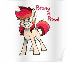 Brony N Proud Poster