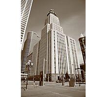 Minneapolis Skyscrapers Photographic Print