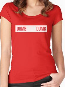 dumb dumb wendy Women's Fitted Scoop T-Shirt