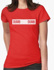 dumb dumb wendy Womens Fitted T-Shirt