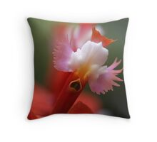 orchid angels Throw Pillow