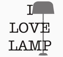 I Love Lamp by Steve Lambert