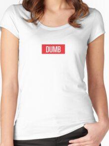 Dumb Red velvet Women's Fitted Scoop T-Shirt
