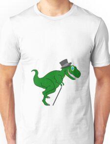 Upper Class Cartoon Dino Unisex T-Shirt