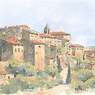 Vue de Gordes, France by ian osborne