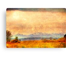Painted Light, View from Discovery Park, Seattle Washington Canvas Print