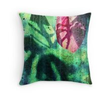 Lonesome Red Throw Pillow