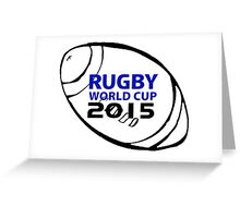 Rugby world cup 2015 Greeting Card