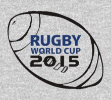 Rugby world cup 2015 Kids Tee