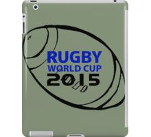 Rugby world cup 2015 iPad Case/Skin