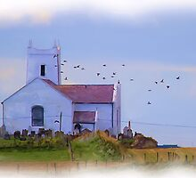 Ballintoy Church by peaky40