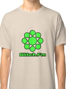 Glitch.Fm Logo - Green Classic T-Shirt
