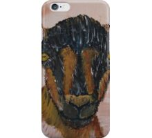 Oberhasli Dairy Goat iPhone Case/Skin