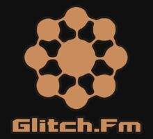Glitch.Fm Logo - Orange by David Avatara