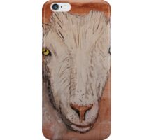 Saanen Dairy Goat iPhone Case/Skin