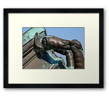 Patina Kiss Framed Print