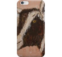 Toggenburg Dairy Goat iPhone Case/Skin