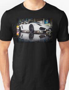 White Lamborgini Gallardo T-Shirt
