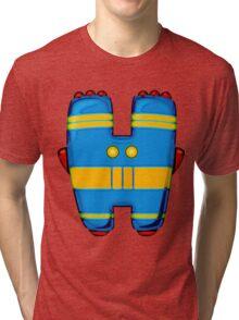 "Introducing the letter ""Heta"" Tri-blend T-Shirt"