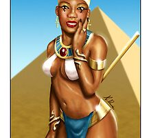 Queen Nefertiti by Keddy Davis