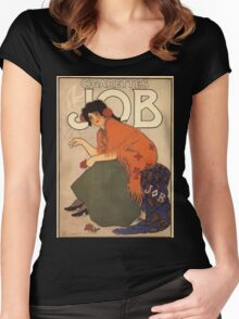 Affiche Armand Rassenfosse Women's Fitted Scoop T-Shirt