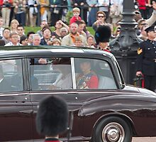 Royal family car by Keith Larby