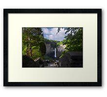 Taughannock Falls - Pseudo HDR Framed Print