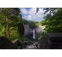 Taughannock Falls - Pseudo HDR Photographic Print