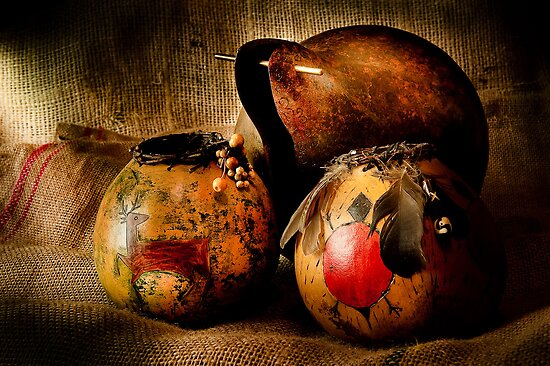 Gourds by Lee LaFontaine