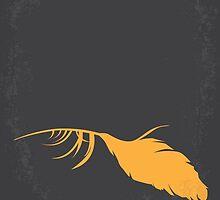 No110 My Birds minimal movie poster by JinYong