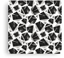 Unique geometrical pattern. Canvas Print