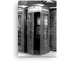 1982 - london: call me! Canvas Print