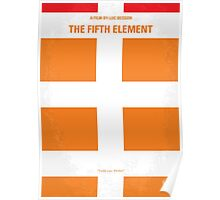 No112 My Fifth Element minimal movie poster Poster