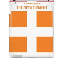 No112 My Fifth Element minimal movie poster iPad Case/Skin