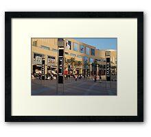 Sunshine shopping  Framed Print