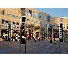 Sunshine shopping  Photographic Print