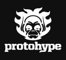 Protohype Logo - White by David Avatara