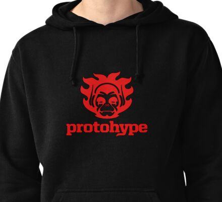Protohype Logo - Red Pullover Hoodie