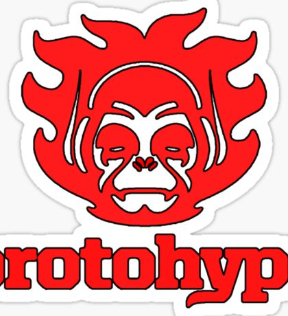 Protohype Logo - Red Sticker