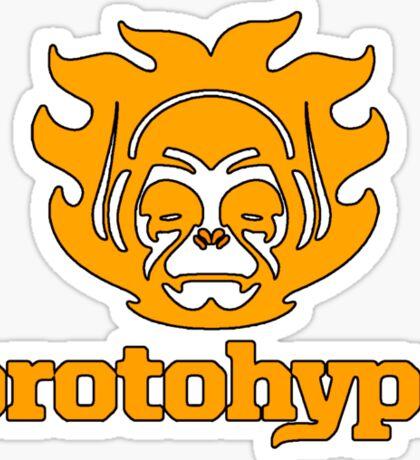 Protohype Logo - Orange Sticker