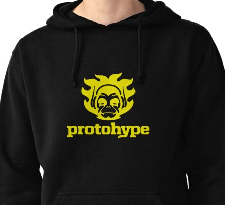Protohype Logo - Yellow Pullover Hoodie