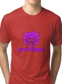 Protohype Logo - Purple Tri-blend T-Shirt