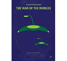 No118 My WAR OF THE WORLDS minimal movie poster Photographic Print