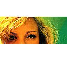 Blonde lady  Photographic Print
